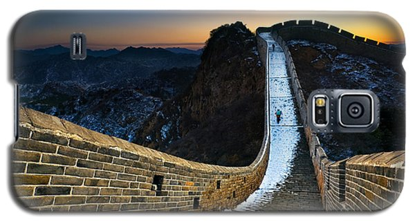 Cold Galaxy S5 Case - The Great Wall by Jun Mu