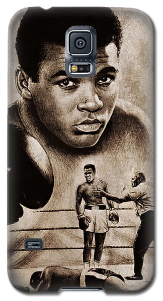 Boxing Muhammad Ali Galaxy S5 Case - The Greatest by Andrew Read