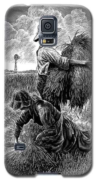 The Harvesters - Bw Galaxy S5 Case
