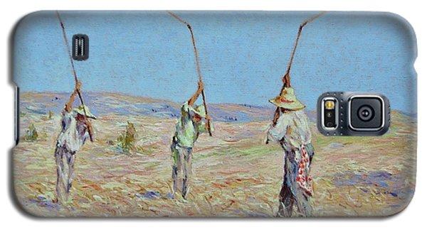 The Haymakers - Pierre Van Dijk 70x90cm Oil Galaxy S5 Case