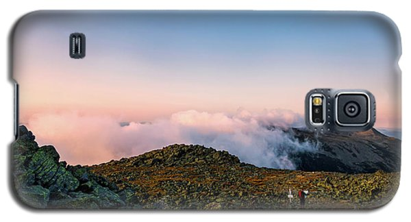 The Hiker - Mt Jefferson, Nh Galaxy S5 Case