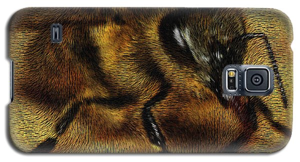 Galaxy S5 Case featuring the digital art The Killer Bee by ISAW Company