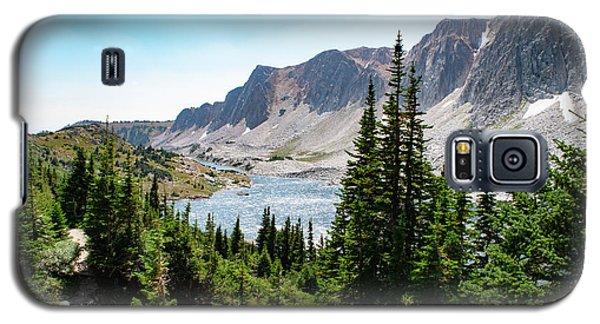The Lakes Of Medicine Bow Peak Galaxy S5 Case