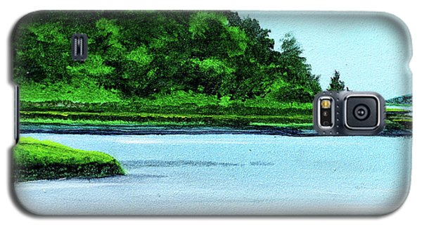 The Little River Gloucester, Ma Galaxy S5 Case