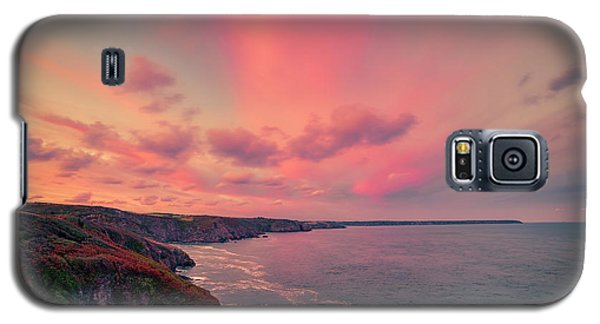 The Lizard Point Sunset Galaxy S5 Case