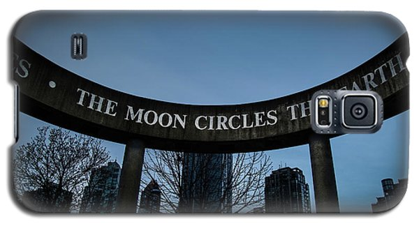 The Moon Circle Galaxy S5 Case