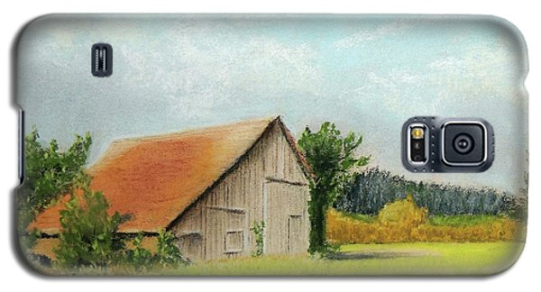 The Old Barn In The Meadow Galaxy S5 Case