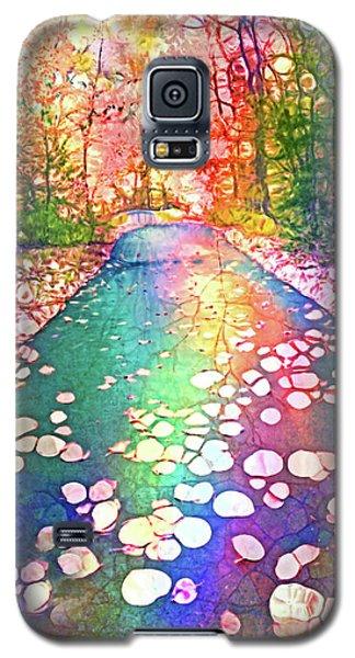 The Path Where Rainbows Meet Galaxy S5 Case