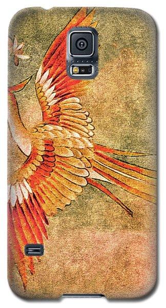 The Peahen's Gift - Kimono Series Galaxy S5 Case