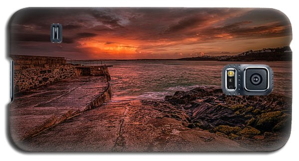The Pier Sunset Galaxy S5 Case