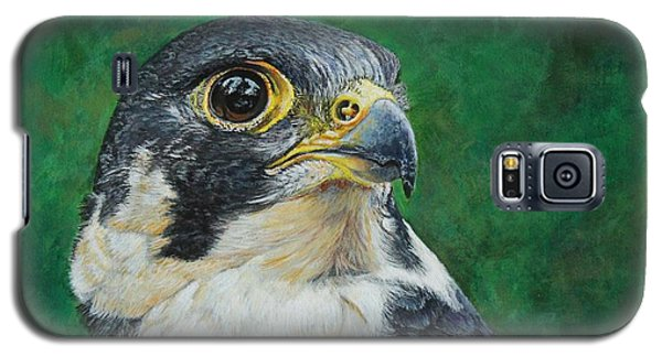 The Proud Peregrine....fastest Creature On The Planet Galaxy S5 Case