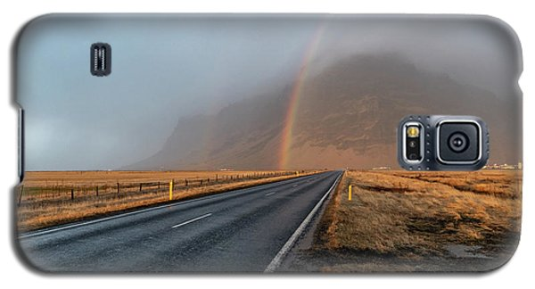 The Rainbow Road Galaxy S5 Case