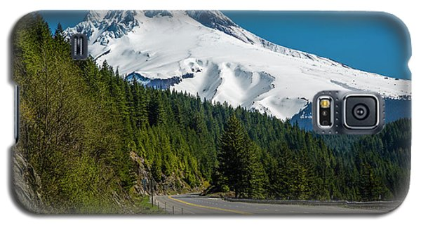 The Road To Mt. Hood Galaxy S5 Case