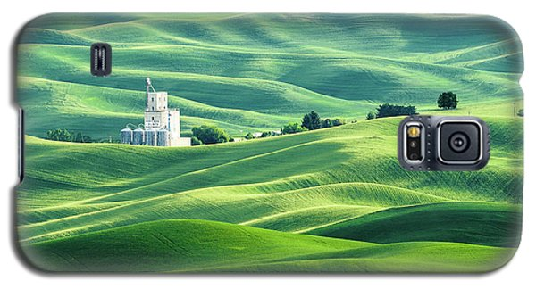 The Rolling Fields Of Palouse Galaxy S5 Case