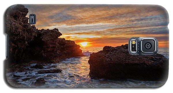 The Sea In Oropesa At Sunrise On The Orange Blossom Coast Galaxy S5 Case