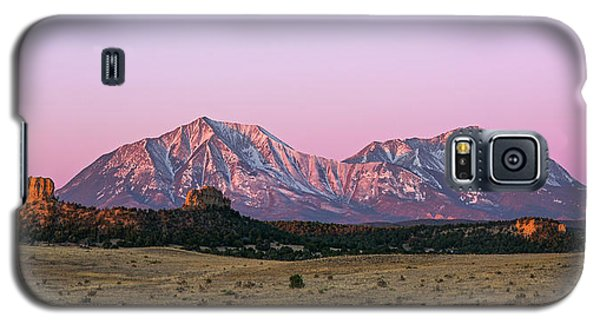 The Spanish Peaks Galaxy S5 Case