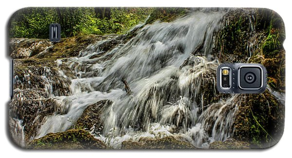 The Springs In It's Summer Green, Big Hill Springs Provincial Re Galaxy S5 Case