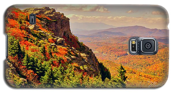 The Summit In Fall Galaxy S5 Case