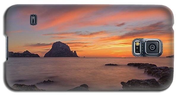 The Sunset On The Island Of Es Vedra, Ibiza Galaxy S5 Case