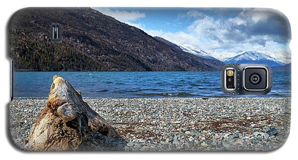 The Trunk, The Lake And The Mountainous Landscape Galaxy S5 Case