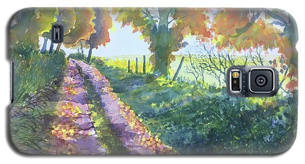 The Tunnel In Autumn Galaxy S5 Case