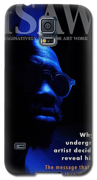 Galaxy S5 Case featuring the digital art The Underground Artist by ISAW Company