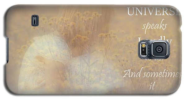 The Universe Speaks Galaxy S5 Case