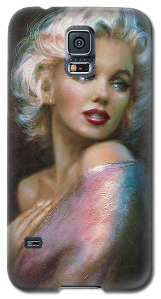 Theo's Marilyn Ww Blue Galaxy S5 Case