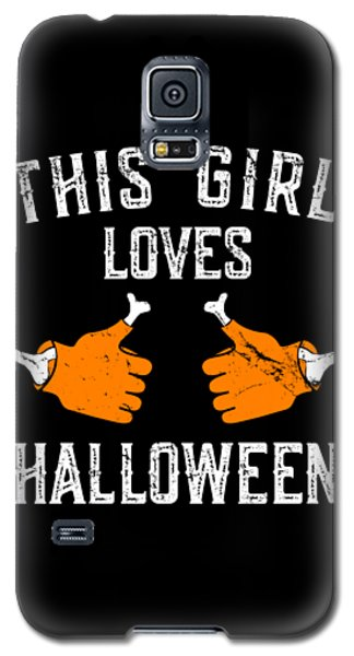 This Girl Loves Halloween Galaxy S5 Case