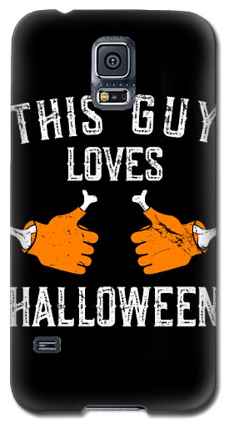 This Guy Loves Halloween Galaxy S5 Case