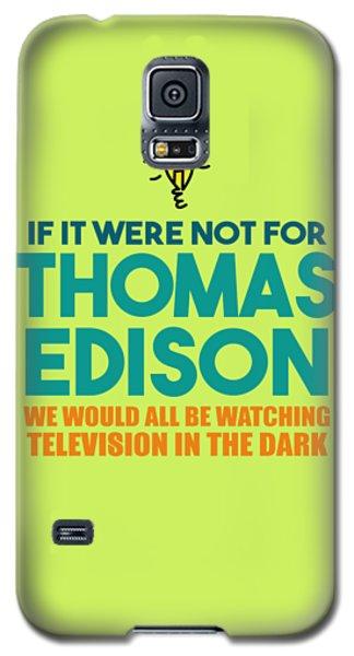 Thomas Edison Galaxy S5 Case
