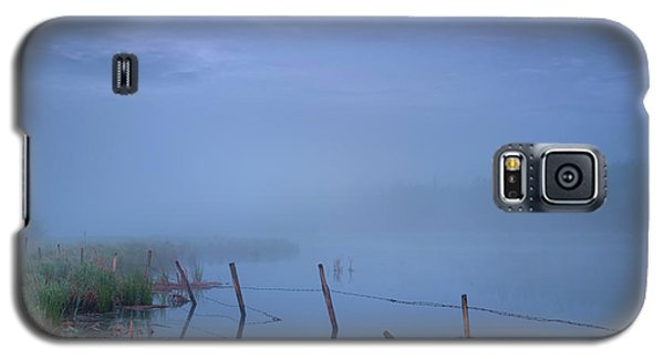 Galaxy S5 Case featuring the photograph Thorhild Pond by Dan Jurak