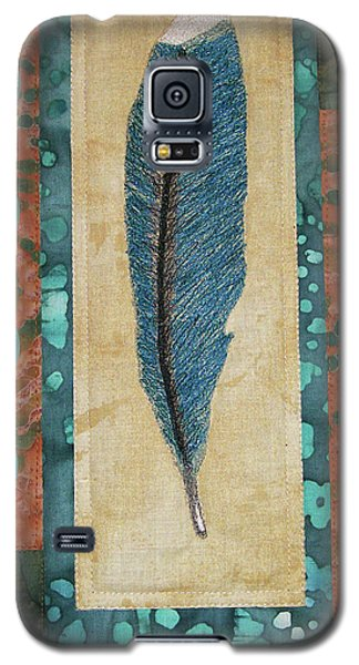 Threaded Feather Galaxy S5 Case