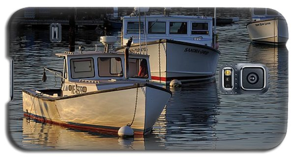 Three Boats In Maine Galaxy S5 Case