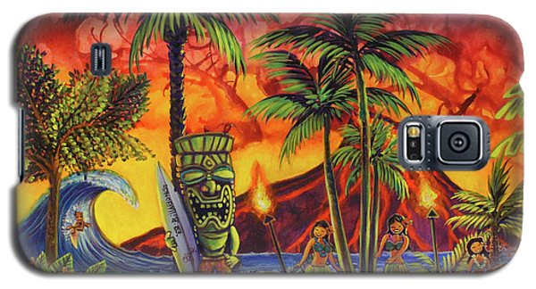 Tiki Surf A Lot Galaxy S5 Case