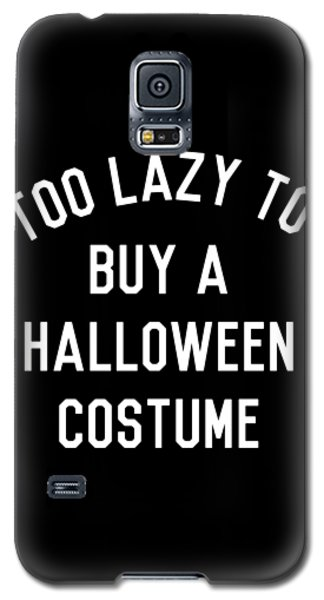 Too Lazy To Buy A Halloween Costume Galaxy S5 Case