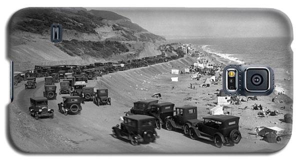 Topanga State Beach 1920 Galaxy S5 Case