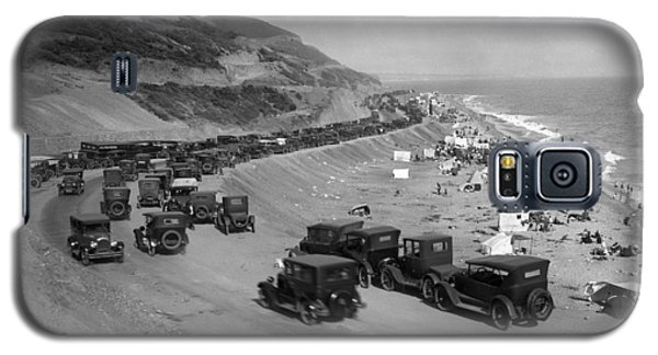 Topanga State Beach 1920 Galaxy S5 Case