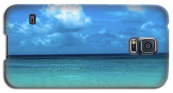 Topical Beach View Anguilla Galaxy S5 Case