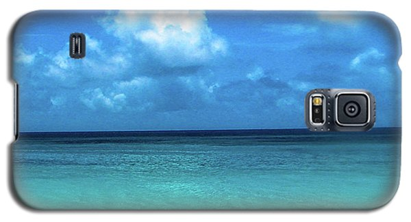 Topical Beach View Anguilla Galaxy S5 Case