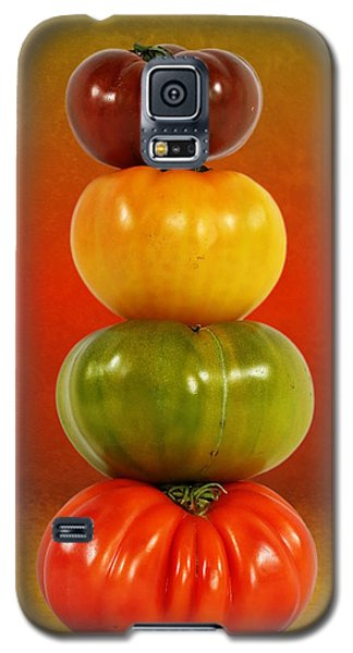 Tower Of Colorful Tomatoes Galaxy S5 Case