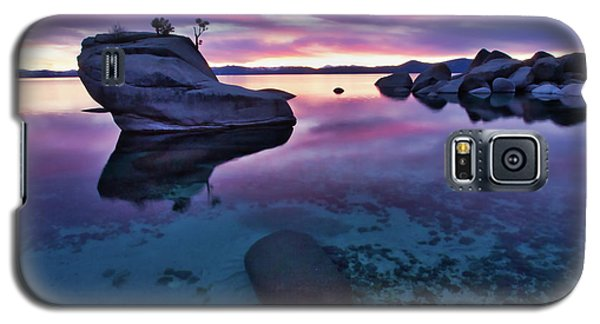 Transparent Sunset Galaxy S5 Case
