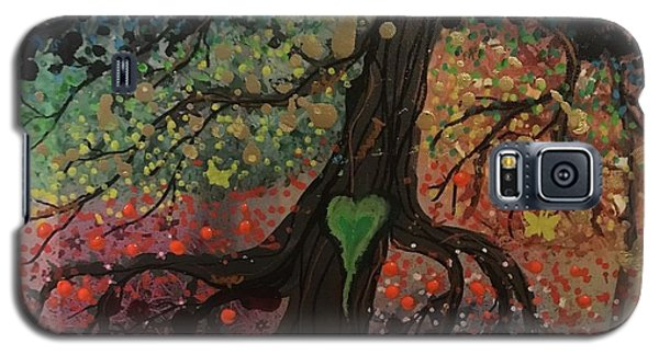 Tree Of Life Chakra Tree Galaxy S5 Case