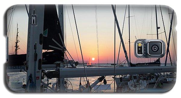 Trieste Sunset Galaxy S5 Case