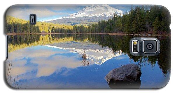 Trillium Lake November Morning Galaxy S5 Case