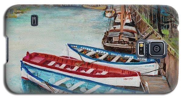 Trio Of Boats Galaxy S5 Case