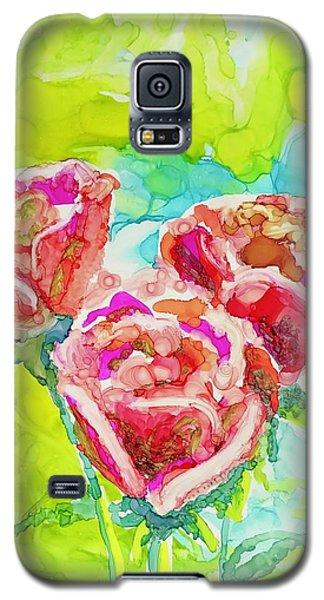 Trio Of Roses Galaxy S5 Case