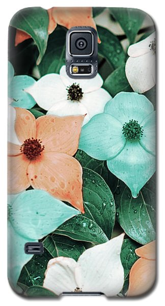 Tropical Dogwood Flowers Galaxy S5 Case