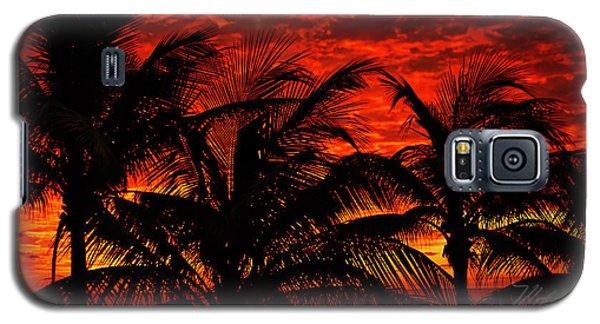 Tropical Sunrise Galaxy S5 Case