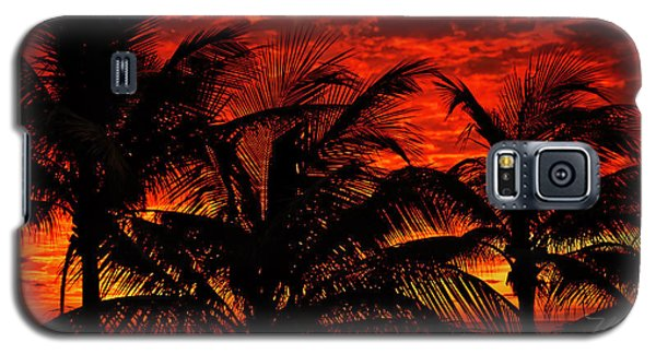 Tropical Sunrise Galaxy S5 Case